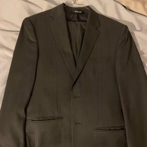 Jos. A Bank suit 38R, pants 32R. Dark blue